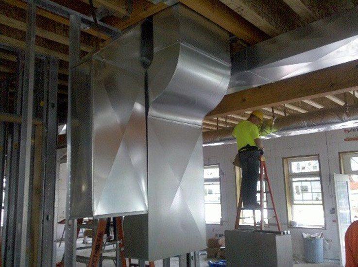 A/C installation